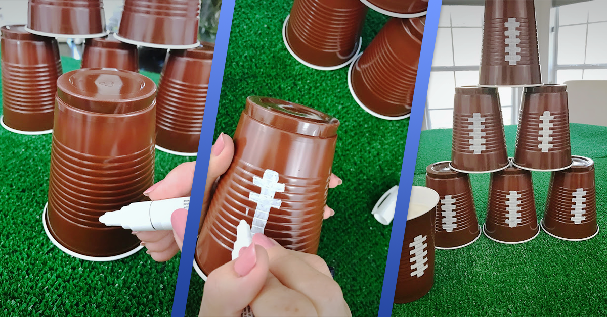football solo cups