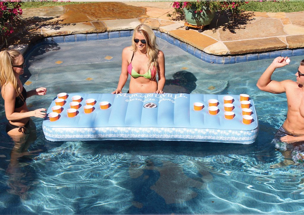beer pong pool float