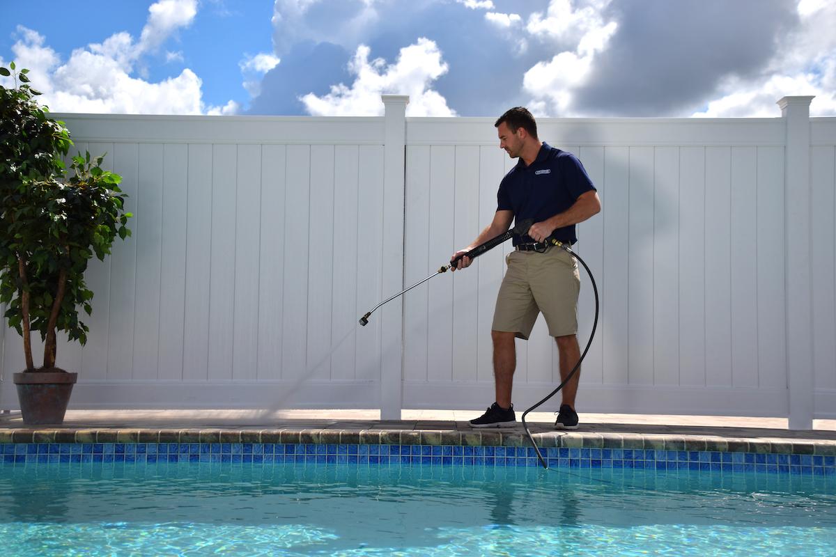 pool pressure washing