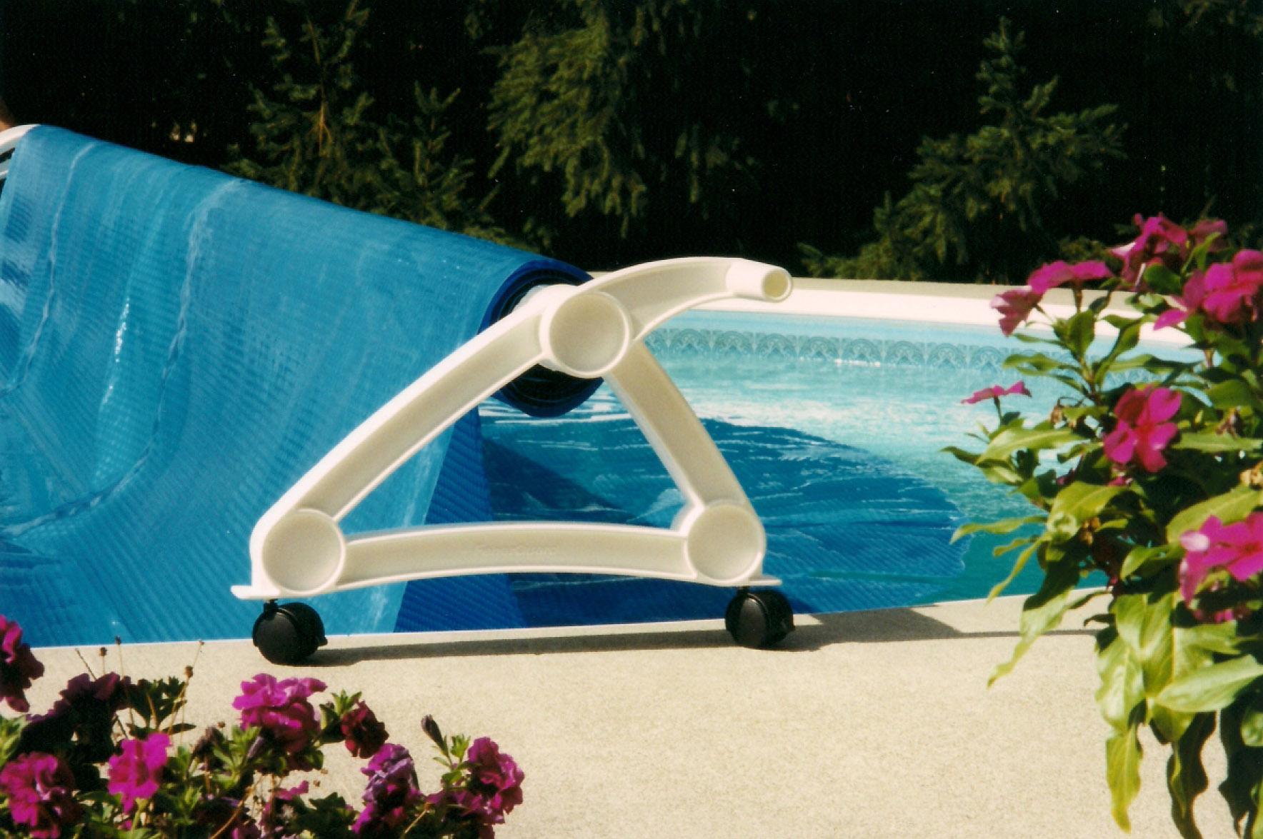 pool solar cover reel