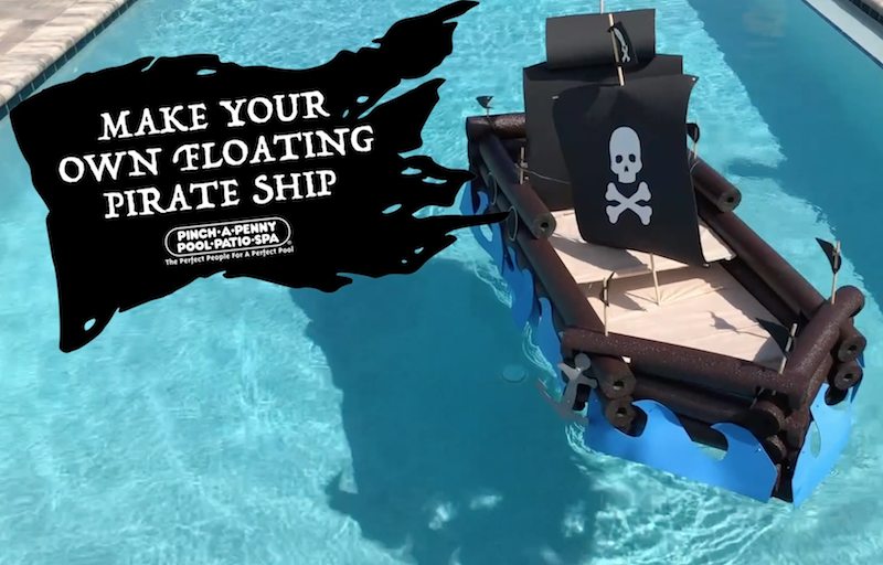 DIY Floating Pirate Ship