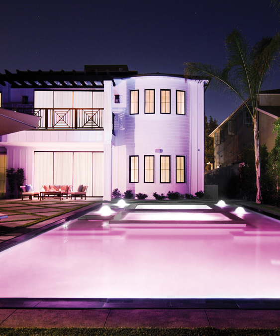 Every pool can benefit from LED lights.