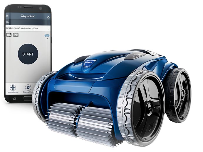 polarics 9650 iq robotic automatic pool cleaner