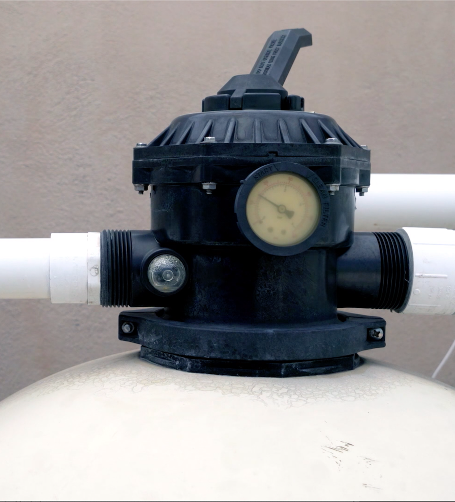 How to backwash a pool sand filter.