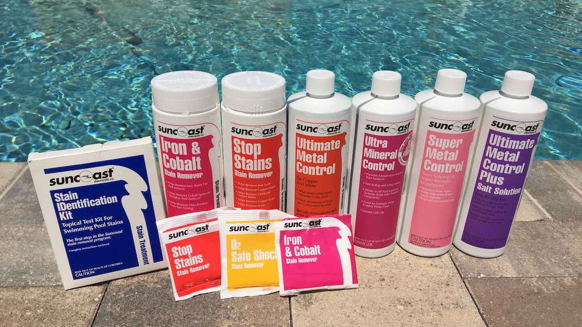 pool Stain removal Chemicals